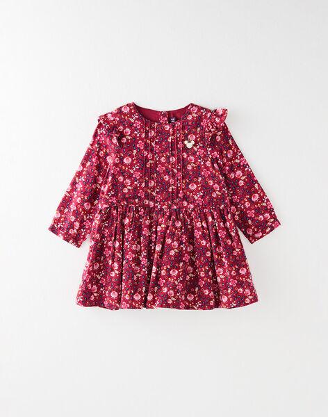 robe pour bébé fille à imprimés fleuris