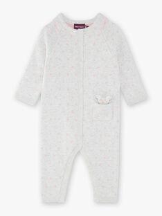 Combinaison grise imprimée pois en tricot  VIDANIELLE 2 / 20H1BFD2CBL001