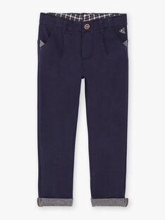 Pantalon bleu marine VOBUMAGE / 20H3PGY1PAN713