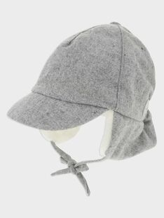 Chapka gris chiné bébé garçon SAOWEN / 19H4BGE2BON943