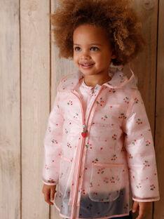 ARAUS Manteau Blouson /à Capuche Enfant Fille Trench-Coat Blazer Veste Manche Longue 1-9 Ans