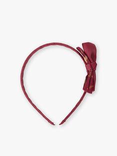 Serre-tête nœud rose framboise  VUSERTETTE / 20H4PFH1TET308