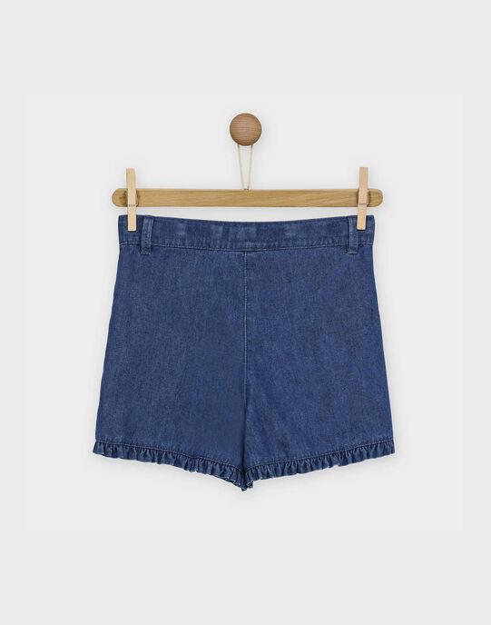 Short bleu jean RABELETTE / 19E2PF41SHO704