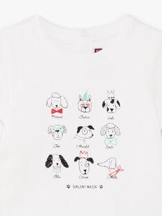 Body T-shirt à imprimé fantaisie bébé garçon BABEAN / 21H1BG11BOD001