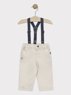 Pantalon Beige TYBARON / 20E1BG11PAN080