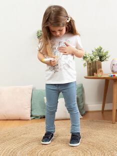 Œuf de Pâques jaune et T-shirt à colorier enfant fille TUTUETTE 2 / 20E2PFU1TCT000