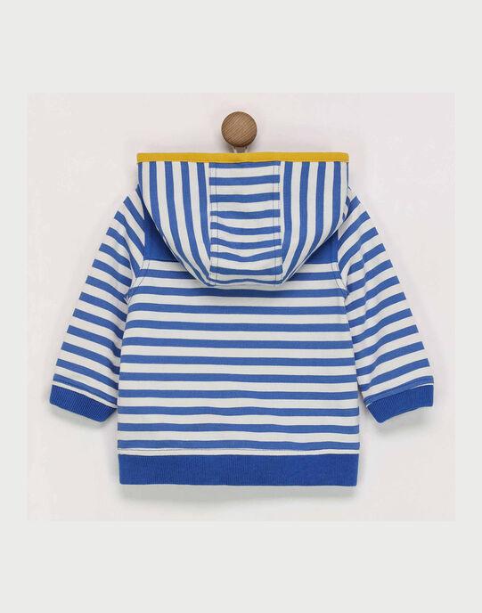 Haut de joggig bleu et blanc RACHOUPY / 19E1BG61JGH707