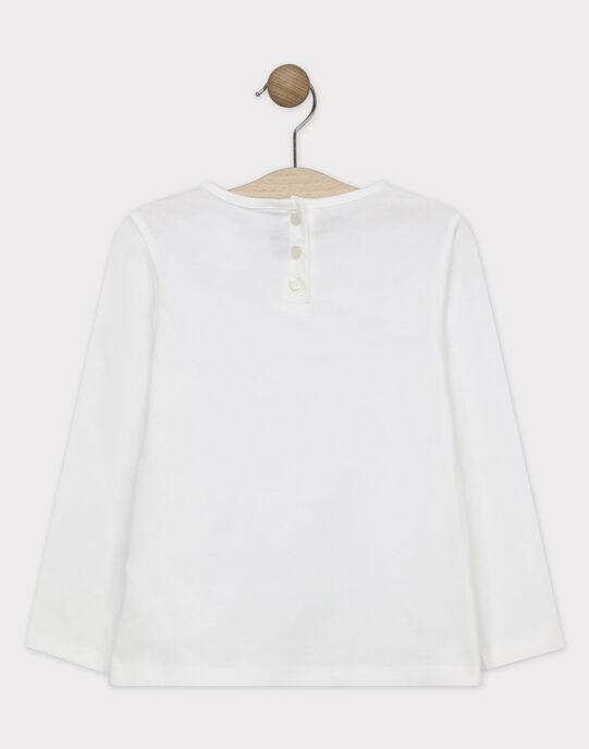 Tee Shirt Manches Longues Ecru SUVIDETTE / 19H2PFC1TML001