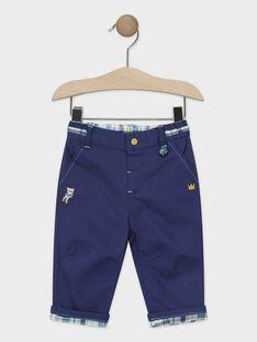 Pantalon bleu marine bébé garçon  TAELTON / 20E1BGD2PANC203