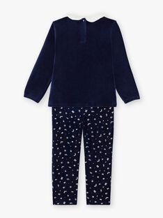 Pyjama thème de noël petit enfant fille  VOJALETTE / 20H5PFK1PYJ717