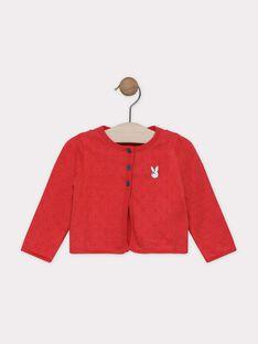 Cardigan manches longues en tricot fantaisie SAANAIS / 19H1BF21CARD313