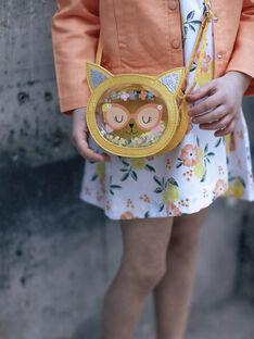 Sac rond transparent à paillettes motif chat enfant fille ZITRONETTE / 21E4PFO1BESB104
