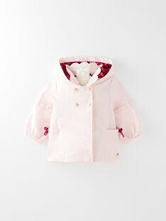 Manteau rose bébé fille  VIFANNY / 20H1BF82IMPD300