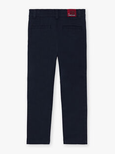 Pantalon bleu marine enfant garçon BEGRAGE / 21H3PG52PAN070