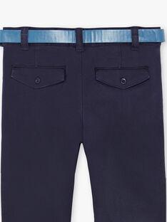 Pantalon bleu marine  ZECROAGE / 21E3PGB3PAN070