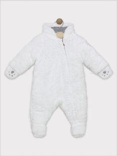 Pilote bébé garçon écru en fourrure synthétique SIPIERROT / 19H1BGF1PIL009