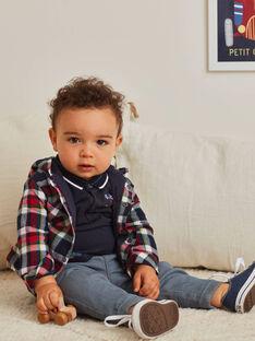 Jean denim gris bébé garçon BAPABLO / 21H1BGM1JEAK004