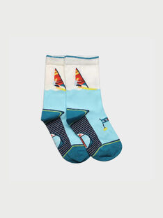 Chaussettes turquoise REMERAGE / 19E4PGD1SOQ203