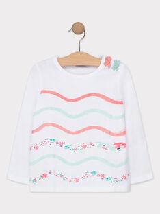 Tee Shirt Manches Longues Ecru TIVOLETTE / 20E2PFD1TML001