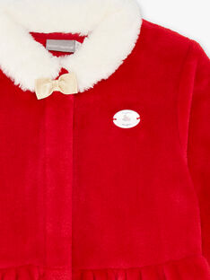 Robe de chambre thème de Noël petit enfant fille  VOJILETTE / 20H5PFK1RDCF528