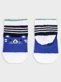 Chaussettes bleues bébé garçon  TALUKE / 20E4BGH1SOQ070