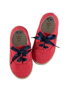 Chaussures rouge REMOVETTE / 19E4PFE1CHT050