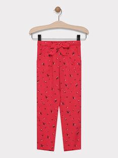 Pantalon imprimée SAJANETTE / 19H2PF31PAND325