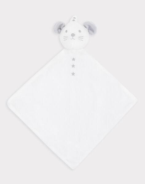 Doudou carré en fausse fourrure bébé mixte SYALIX / 19H0AM11JOU000