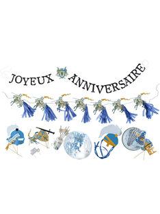 Coffret anniversaire bleu ROANIBOY / 19EZENX2CAN213