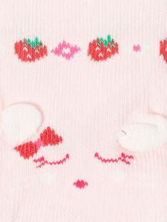 Chaussettes Basses Rose ZAAYA / 21E4BFJ2SOB301
