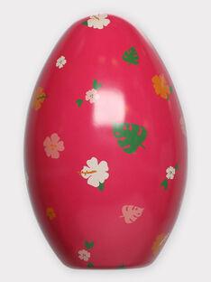Œuf de Pâques rose fuchsia et T-shirt à colorier enfant fille TUTUETTE 3 / 20E2PFU2TCT000
