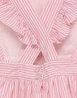 Robe chasuble rose RUSILETTE / 19E2PFF3CHS318