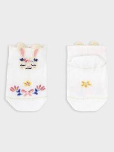 Chaussettes basses bébé fille TAOLISA / 20E4BFO1SOB000
