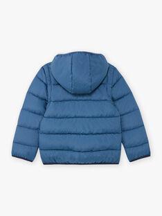 Doudoune matelassée bleu chiné et sac tigre enfant garçon BEDOUNAGE 1 / 21H3PGG1DTV222