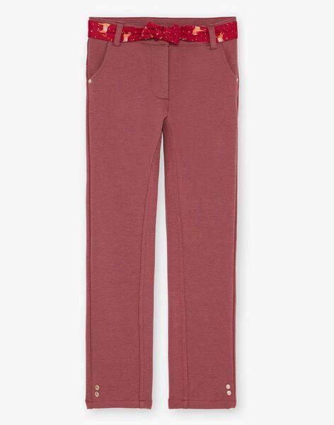 Pantalon Milano ceinture imprimée VULISETTE / 20H2PFQ1PAN308