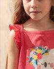 Débardeur rose imprimé koala enfant fille TEUNIETTE / 20E2PFX2DEBF507