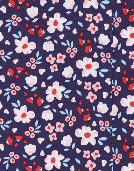 Manteau imprimé fleuri bébé fille  VIFLORINE / 20H1BF81IMP705
