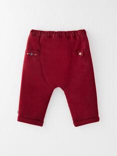 Pantalon bordeaux  VANIELS / 20H1BGU1PAN718