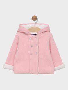 Veste à capuche avec découpes doublée polaire SIMANON / 19H1BF71VES301