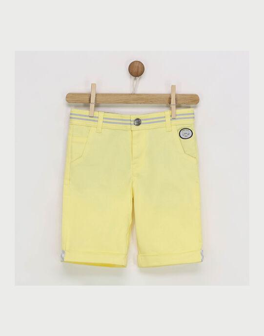 Bermuda jaune RYZOAGE / 19E3PGS3BER106