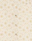 Chemisier écru imprimé floral ZEABETTE / 21E2PF91CHE001