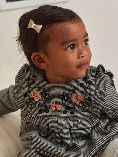 Robe imprimé pied-de-poule bébé fille BAMARION / 21H1BFM1ROB090
