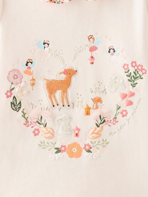 - Rose//Blanc Old Rose 556 Care Pyjama B/éb/é fille - 0-3 mois//50 cm lot de 2