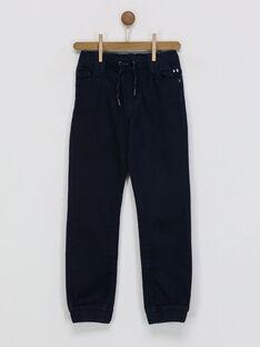 Pantalon bleu nuit RAPANTAGE1 / 19E3PGB1PANC205