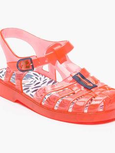 Paire de chaussures de plage transparente NYMESAGE / 18E4PGV1CHOE402