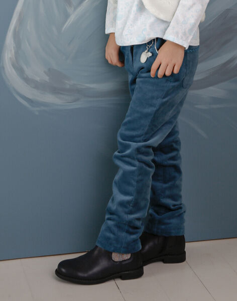 Pantalon velours doublé VEUSHOETTE / 20H2PFW1PAN714