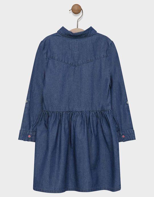Robe en denim fille SARALETTE / 19H2PF31ROBP270