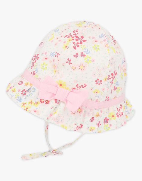 Chapeau à imprimé fleuri et volants bébé fille TALILA / 20E4BFJ1CHA000