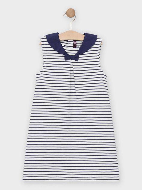 Robe fantaisie enfant marin FILLE 3 tailles disponibles
