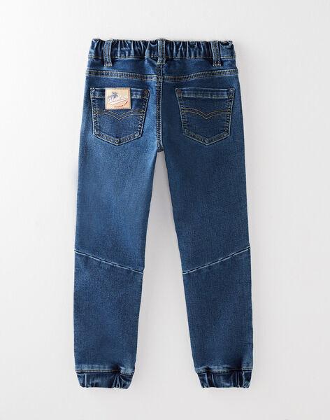 Pantalon en maille effet denim VEFLIAGE / 20H3PGL1JEAP274
